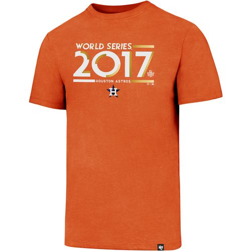 Display product reviews for '47 Men's Houston Astros 2017 Gold World Series Club T-Shirt
