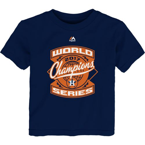 Majestic Toddlers' Astros World's Best Roster T-Shirt