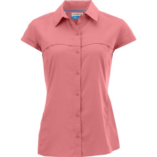 Magellan Outdoors Women's Falcon Lake II Short Sleeve Top