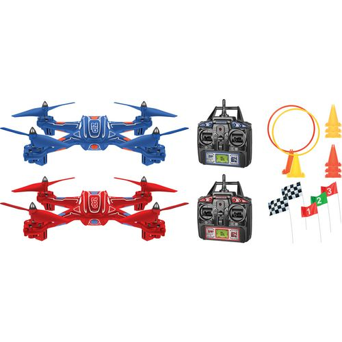 World Tech Toys Elite Zip & Zap 2.4 GHz 4.5-Channel RC Racing Drones Set