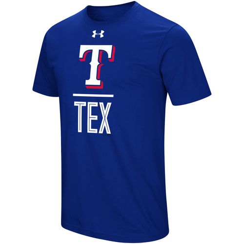 Under Armour Men's Texas Rangers Slash T-shirt