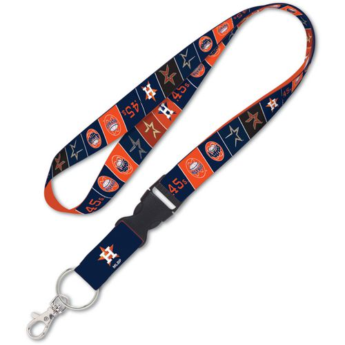 WinCraft Houston Astros Cooperstown 1 in Buckle Lanyard