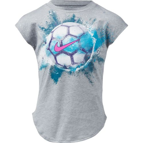 Nike Toddler Girls' Exploding Soccer Ball T-shirt