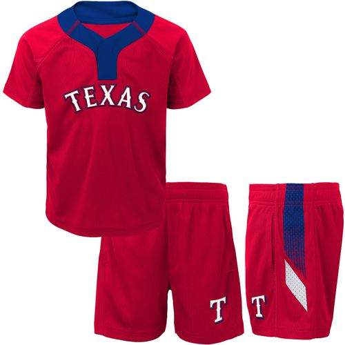 MLB Boys' Texas Rangers Ground Rules Top and Short Set