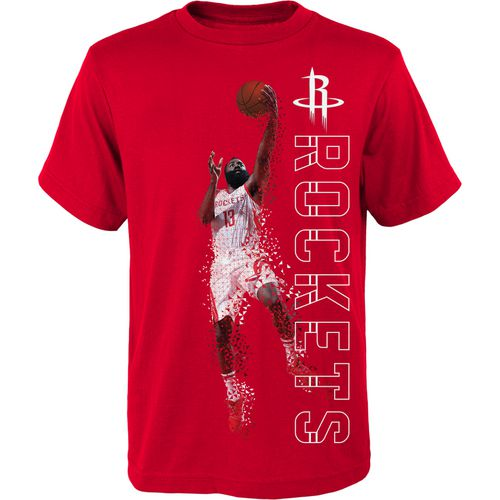 NBA Boys' Houston Rockets James Harden Double Slice Performance T-shirt