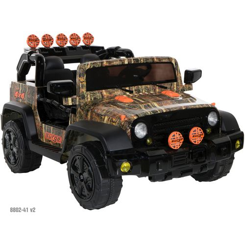Dynacraft Boys' 12 V Camo 4 x 4 Ride-On Vehicle