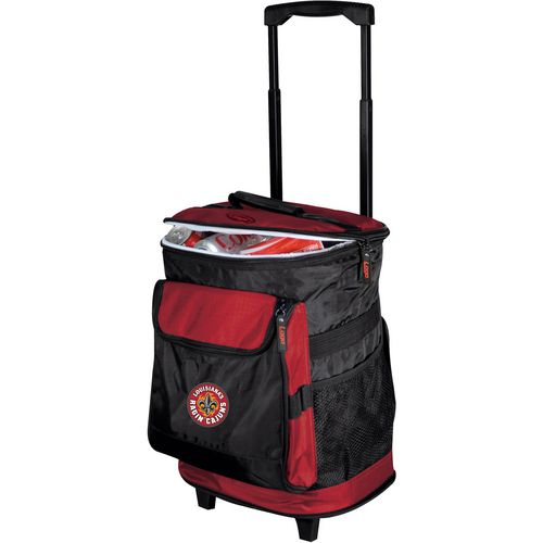 Logo University of Louisiana at Lafayette Rolling Cooler