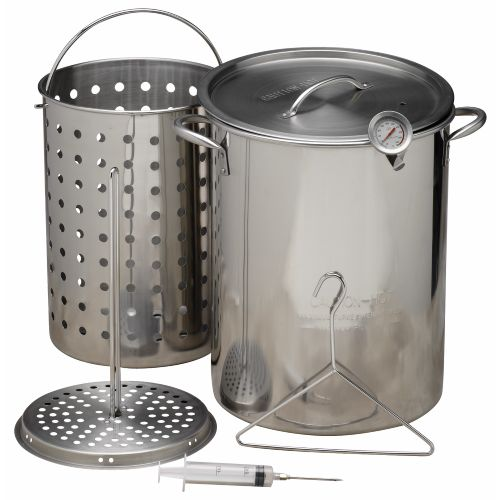 Display product reviews for Outdoor Gourmet Stainless-Steel Pot Kit
