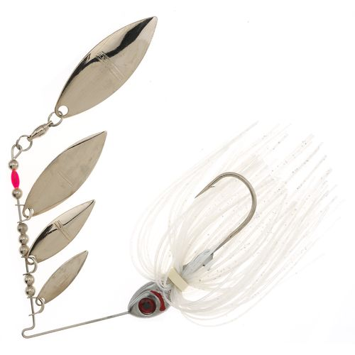BOOYAH Super Shad 3/8 oz Multi Willow Blade Spinnerbait