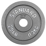 CAP Barbell Slim-Line 25 lb. Olympic Plate - view number 1