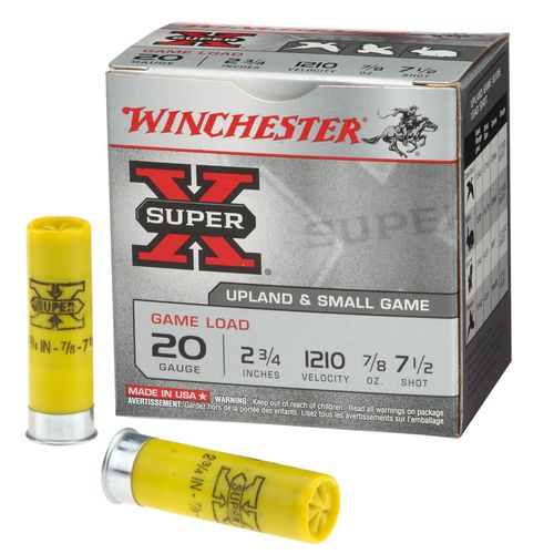 Winchester Super-X 20 Gauge Game Load Shotshells - view number 1