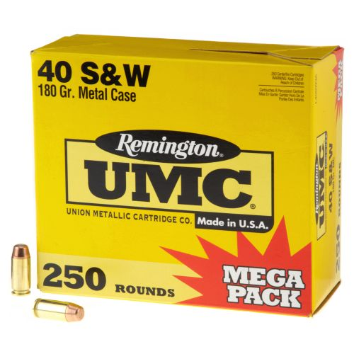 Remington UMC .40 S&W 180-Grain Centerfire Handgun Ammunition