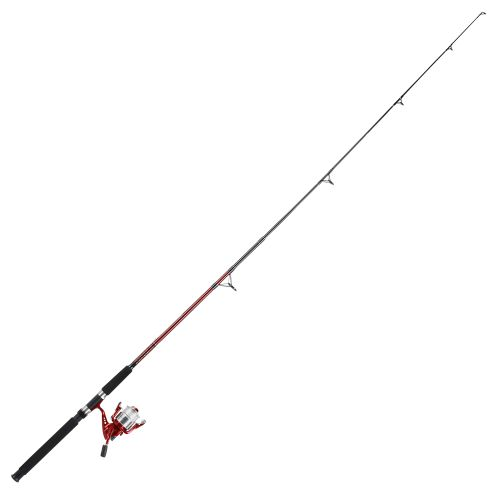 Pinnacle Red Metal 7' Saltwater Bigwater Spinning Rod and Reel Combo