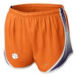 Nike Women's Clemson University Seasonal Tempo Short