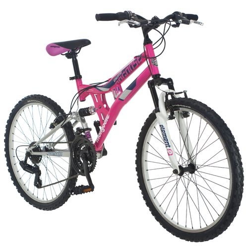 "Mongoose® Girls' Exlipse 24"" Mountain Bicycle"