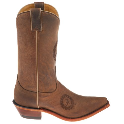 Justin Women's University of Alabama Nocona Branded Cowboy Boots