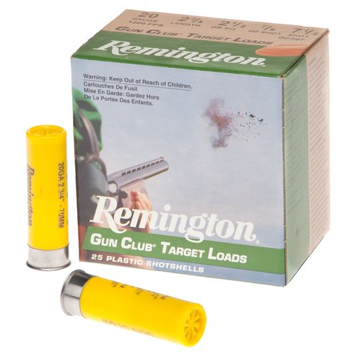 Remington Gun Club Target Loads 20 Gauge Shotshells