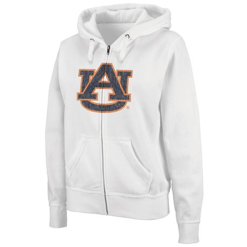 Colosseum Athletics Women's Auburn University Cozy Full Zip Fleece Hoodie
