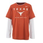 Nike Boys' University of Texas 2-fer Dri-FIT T-shirt