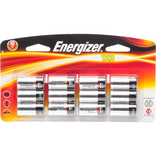 Energizer® CR123 Specialty Lithium Batteries 12-Pack