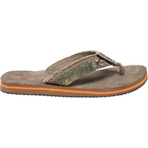 Realtree Outfitters  Men s Green Duck Flip Flops