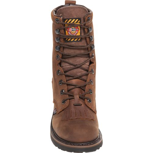 Justin Men's Wyoming Waterproof Work Boots - view number 3