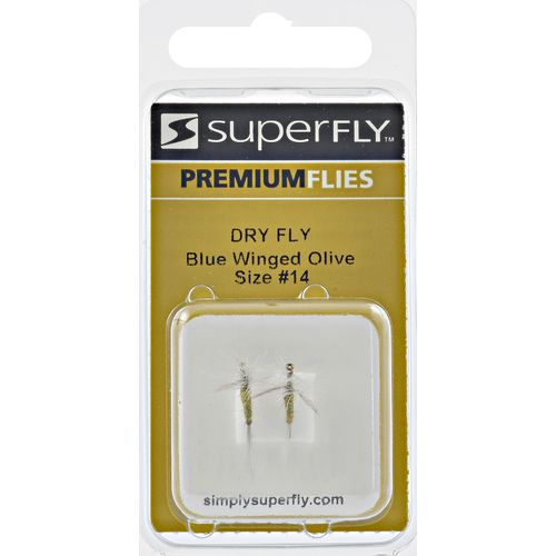 Superfly Blue Winged Olive no. 16 Dry Fly
