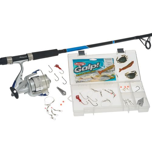 Shakespeare® Catch More Fish 7' Saltwater Surf/Pier Spinning Fishing Kit - view number 9
