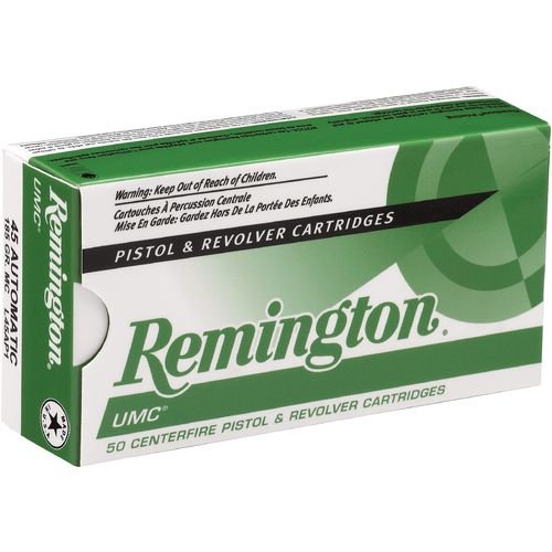 Display product reviews for Remington UMC .25 Auto 50-Grain Centerfire Handgun Ammunition