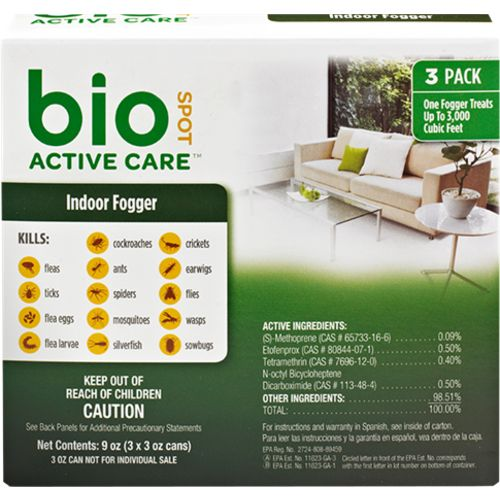 Farnam Bio Spot Active Care Indoor Foggers 3-Pack