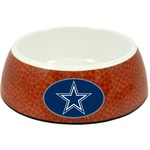 GameWear Dallas Cowboys Classic NFL Football Pet Bowl