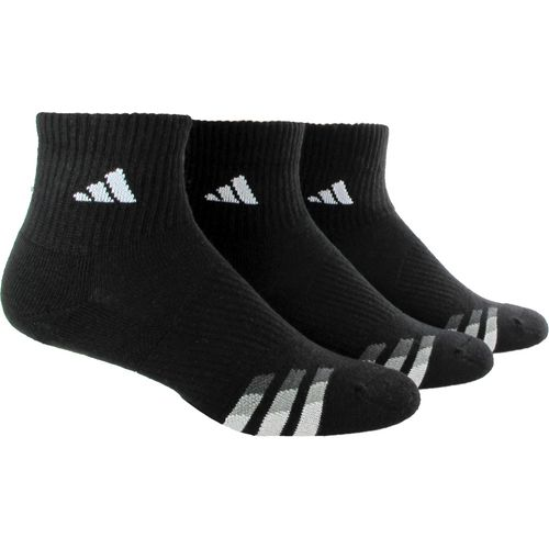 adidas™ Men's climalite® Quarter Socks 3-Pair