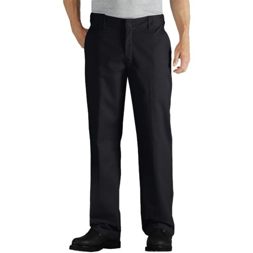 Dickies Men's Relaxed Fit Straight Leg Twill Comfort Waist Pant