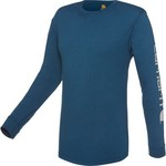 Carhartt Men's Long Sleeve Graphic Logo T-shirt - view number 1
