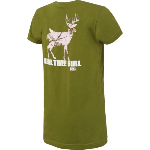 Realtree Girl Juniors' Fitted Whitetail T-shirt