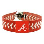 GameWear Adults' Atlanta Braves Baseball Bracelet