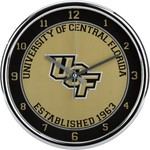 WinCraft University of Central Florida Chrome Wall Clock