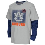 Colosseum Athletics Kids' Auburn University Flanker Long Sleeve Layer T-shirt