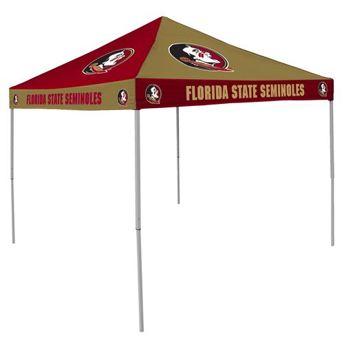 Logo Florida State University Straight-Leg 9 ft x 9 ft Checkerboard Tent