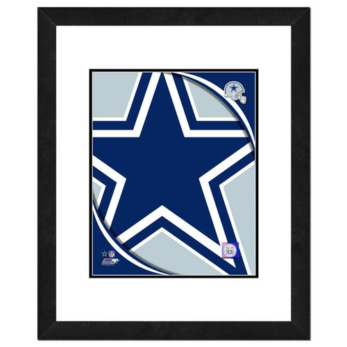 Photo File Dallas Cowboys Logo 8' x 10' Photo