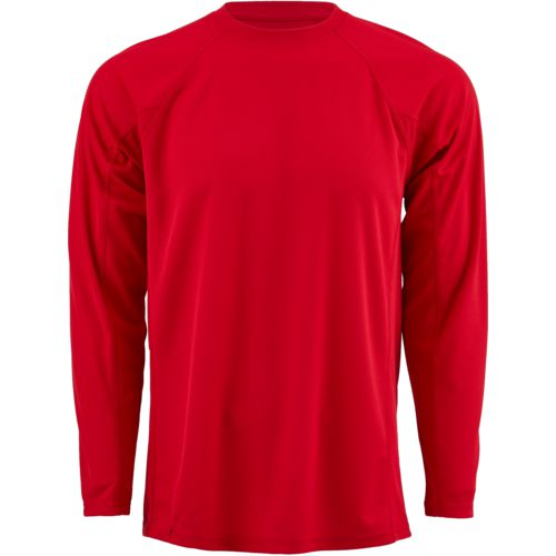 BCG Men's Cool Skin Fashion Long Sleeve Crew T-shirt
