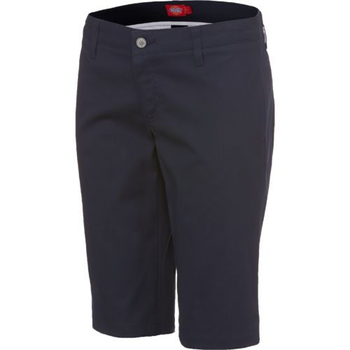"Dickies Girl Juniors' 4 Pocket 13"" Bermuda Short"