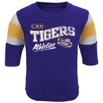 Genuine Stuff Toddlers' Louisiana State University Golden Days Classic Football T-shirt