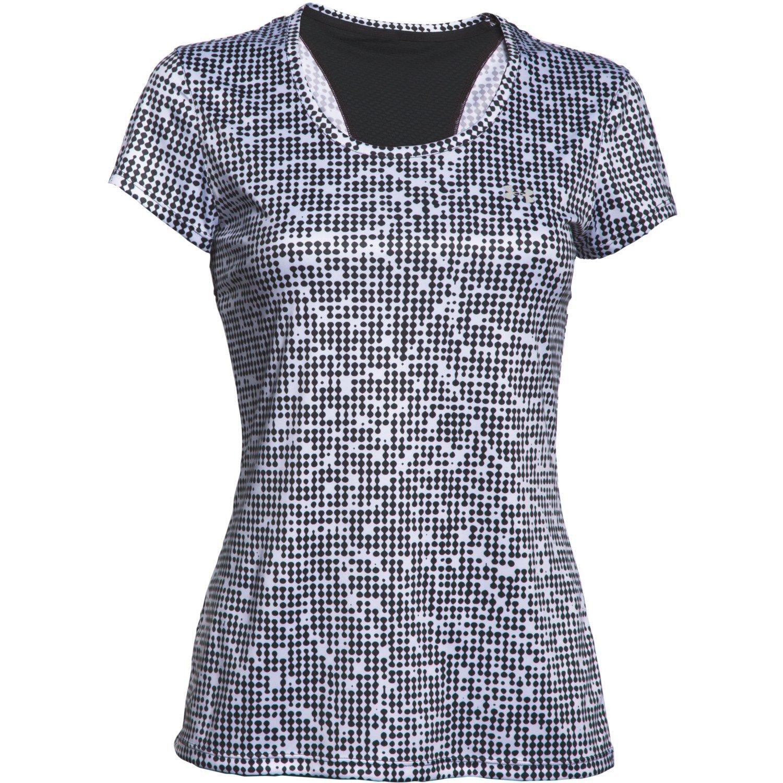 Under armour women 39 s heatgear flyweight printed t shirt for Printed under armour shirts