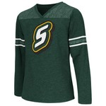 Colosseum Athletics Girls' Southeastern Louisiana University Cupie Long Sleeve T-shirt