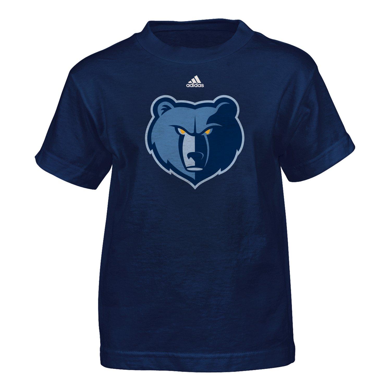 NBA Boys' Memphis Grizzlies Primary Logo Short Sleeve T-shirt