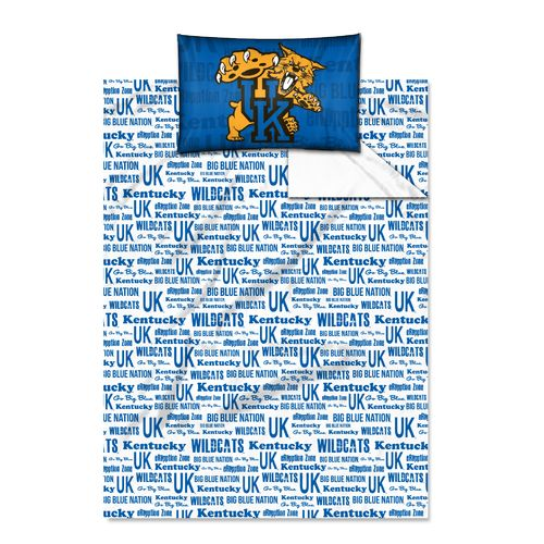 The Northwest Company University of Kentucky Anthem Twin Sheet Set