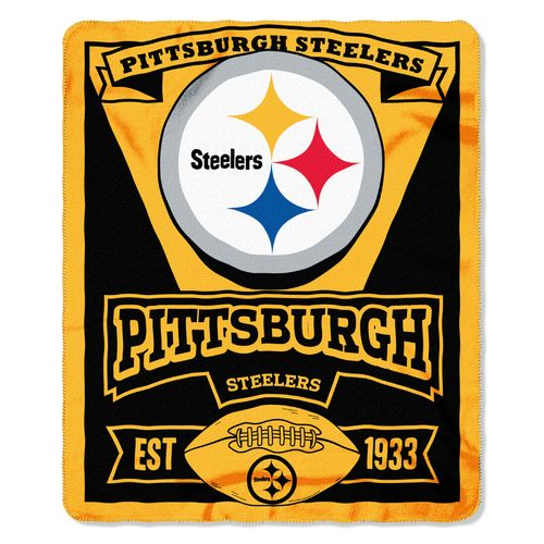 The Northwest Company Pittsburgh Steelers Marquee Fleece Throw