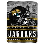 The Northwest Company Jacksonville Jaguars Stacked Silk Touch Throw