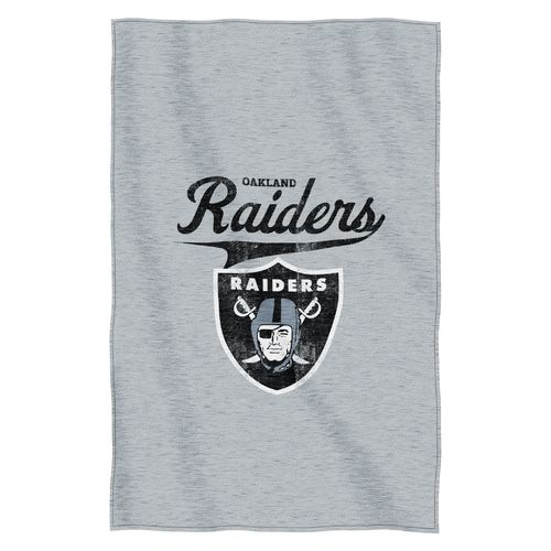 The Northwest Company Oakland Raiders Sweatshirt Throw